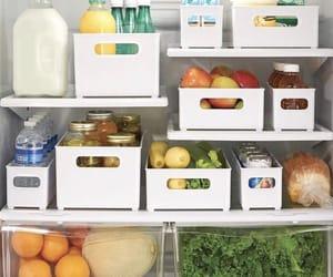 fridge, FRUiTS, and healthy image