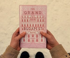 the grand budapest hotel, book, and movie image