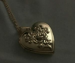 heart, aesthetic, and necklace image