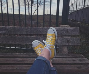 converse, 💛, and shoes image