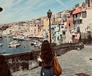 colours, girl, and italy image
