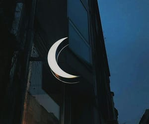 moon, light, and aesthetic image