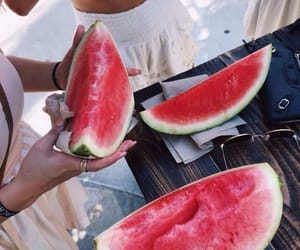 summer and watermelon image