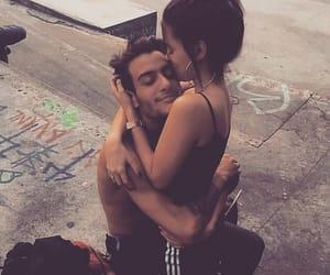 Relationship, couple, and hug image