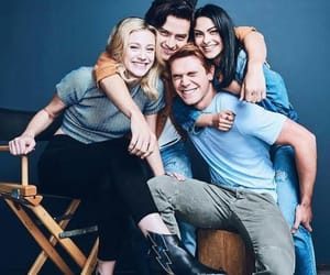 riverdale, kj apa, and lili reinhart image