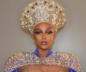 African, makeup, and afro latina image