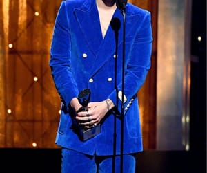 Harry Styles, one direction, and blue image