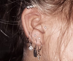 diamonds, earrings, and fashion image