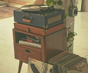 vintage, music, and vinyl image