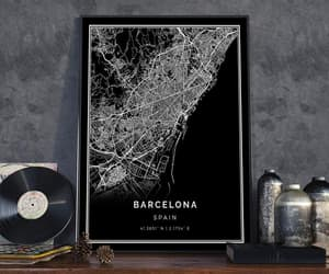 Barcelona, etsy, and city poster image