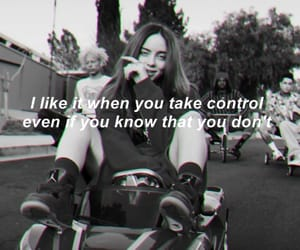 b&w, song, and billie eilish image