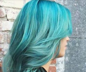blue, blue hair, and curls image