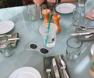 aesthetic, food, and sunglasses image