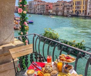 venice, travel, and food image