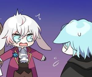 anime, purple, and saeran choi image