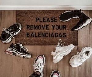 fashion, Balenciaga, and shoes image