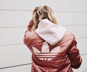 fashion, rose gold, and adidas image