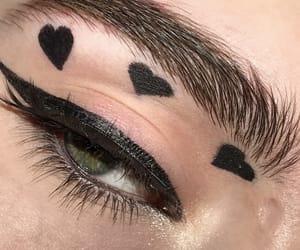eye, girl, and green eyes image