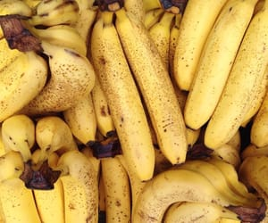banana, yellow, and fruit image