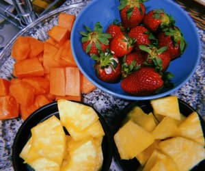 colours, food, and fruit image