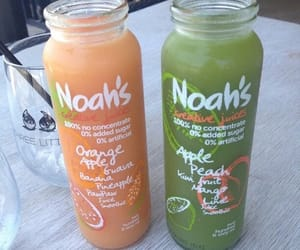 drink, juice, and noah's image