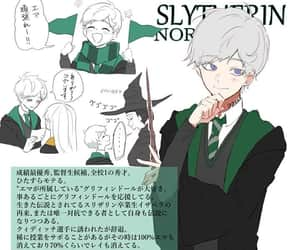 anime, harry potter, and crossover image