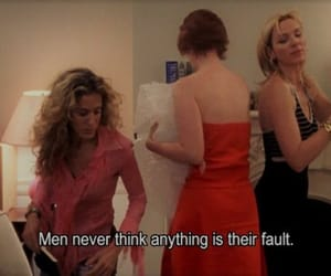 sex and the city, quotes, and men image