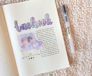 journal, kpop, and bts image