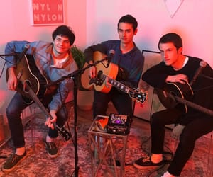 cole, wallows, and dylan image