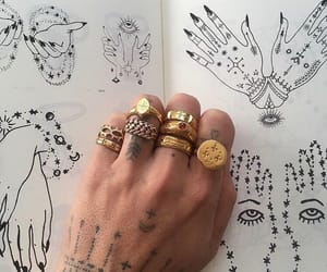 draw, drawing, and hand image