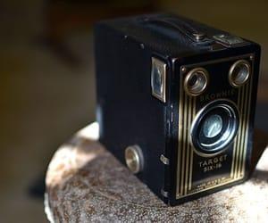black, vintage, and camera image