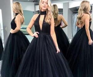 black prom dresses, prom dresses 2019, and Prom image