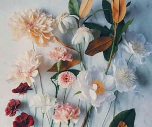 flowers, ❤, and 🌸 image