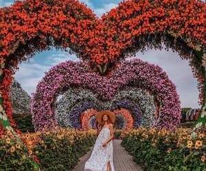 garden, girl, and nature image