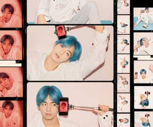 blue, model, and jungkook image