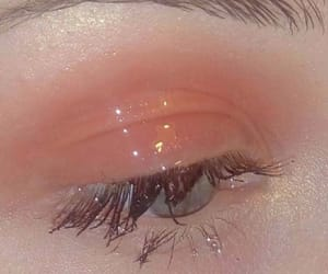 aesthetic, makeup, and peach image