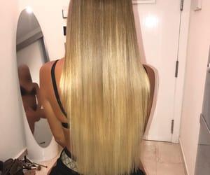 blonde, hair, and hair dresser image