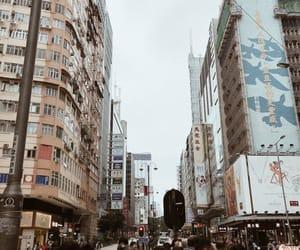 aesthetic, buildings, and skies image