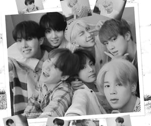 Collage, jimin, and jin image