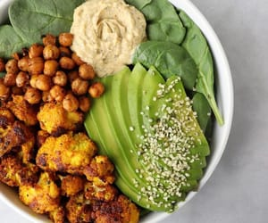 avocado, cauliflower, and dinner image