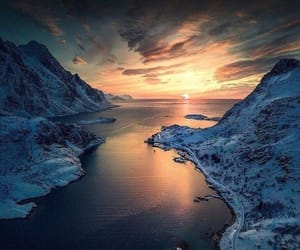 beautiful, mountain, and norway image