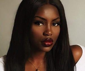 gorgeous and melanin image