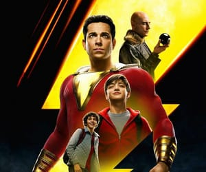 shazam, 2019, and póster image