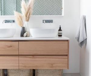 bathroom, inspiration, and mirror image