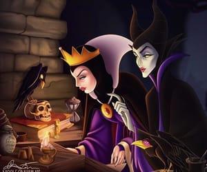 disney, malefique, and evil queen image
