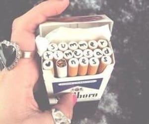 cigarette, summer, and lana del rey image