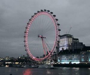 aesthetics, london, and london eye image
