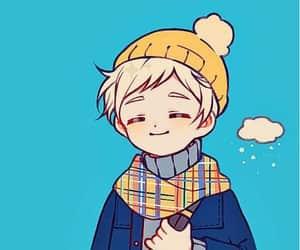 anime, norman, and yakusoku no neverland image