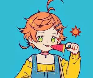 anime, emma, and yakusoku no neverland image