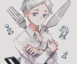 anime, norman, and yakusoku no neverland image